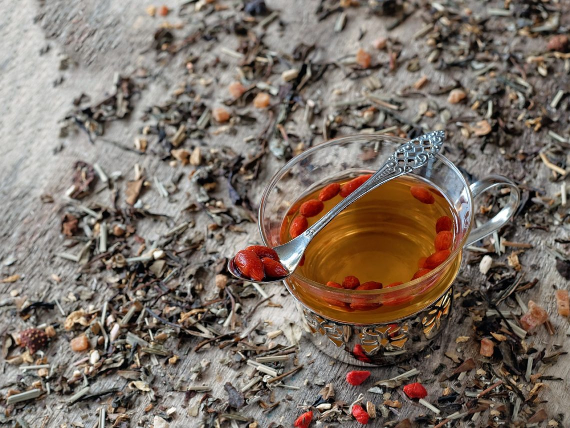 sok z jagód goji